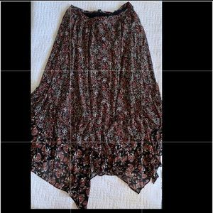 Free People | Floral Skirt | 10